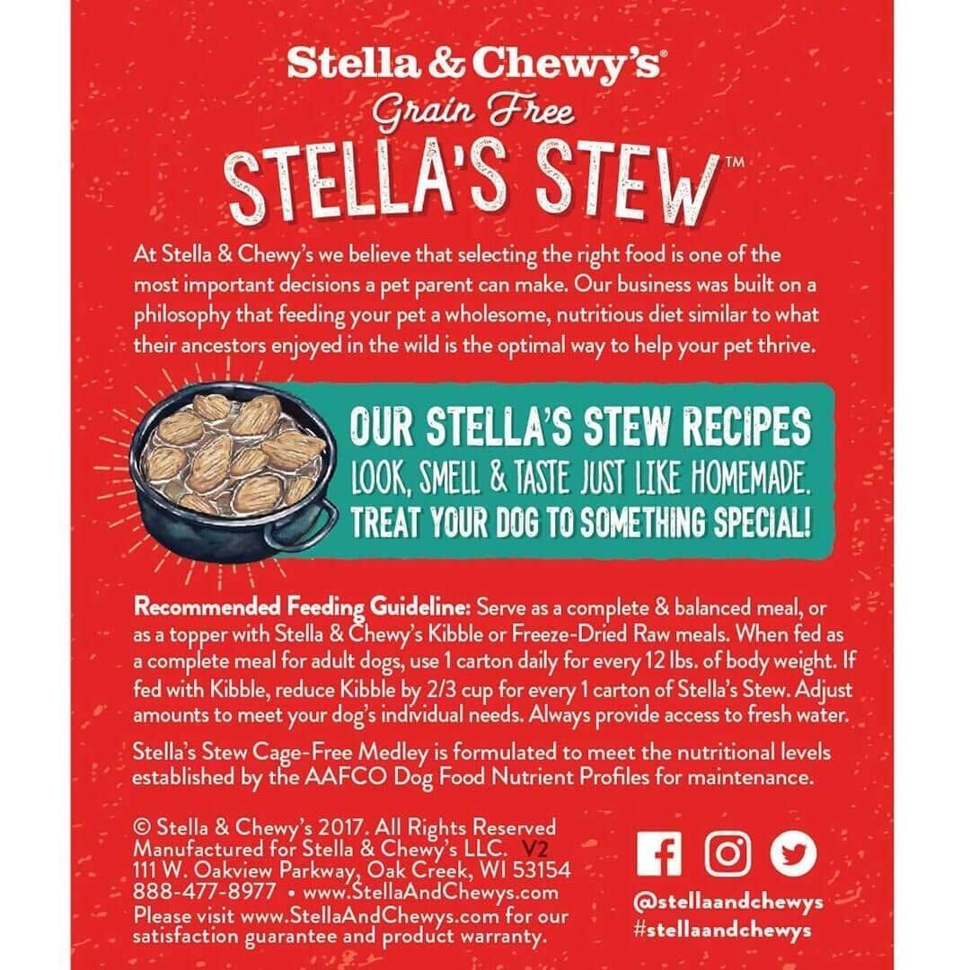 Stella & Chewy's Stella & Chewy's Stew Cage Free Medley Wet Dog Food 11oz