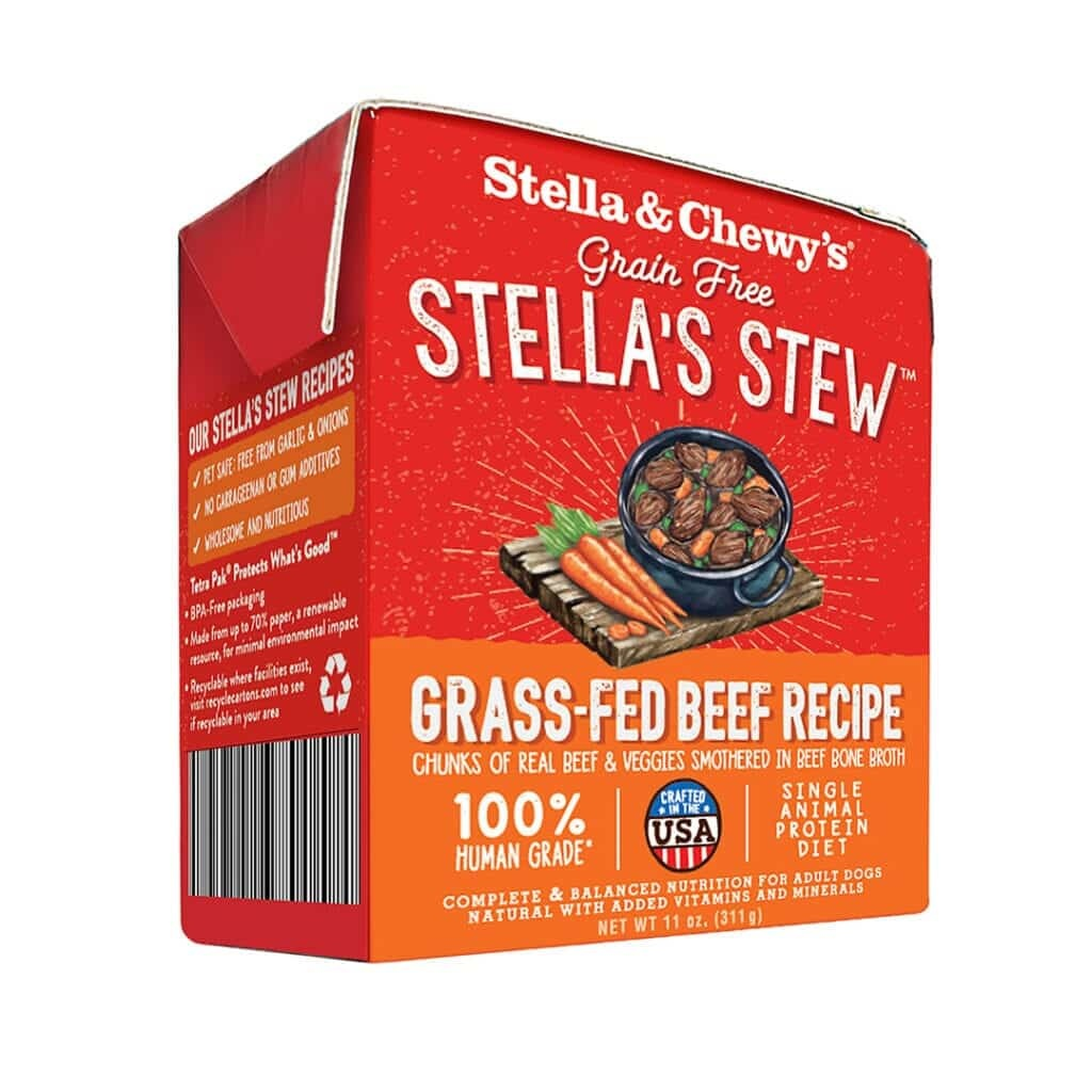 Stella & Chewy's Stella & Chewy's Stew Grass-Fed Beef  Wet Dog Food 11oz