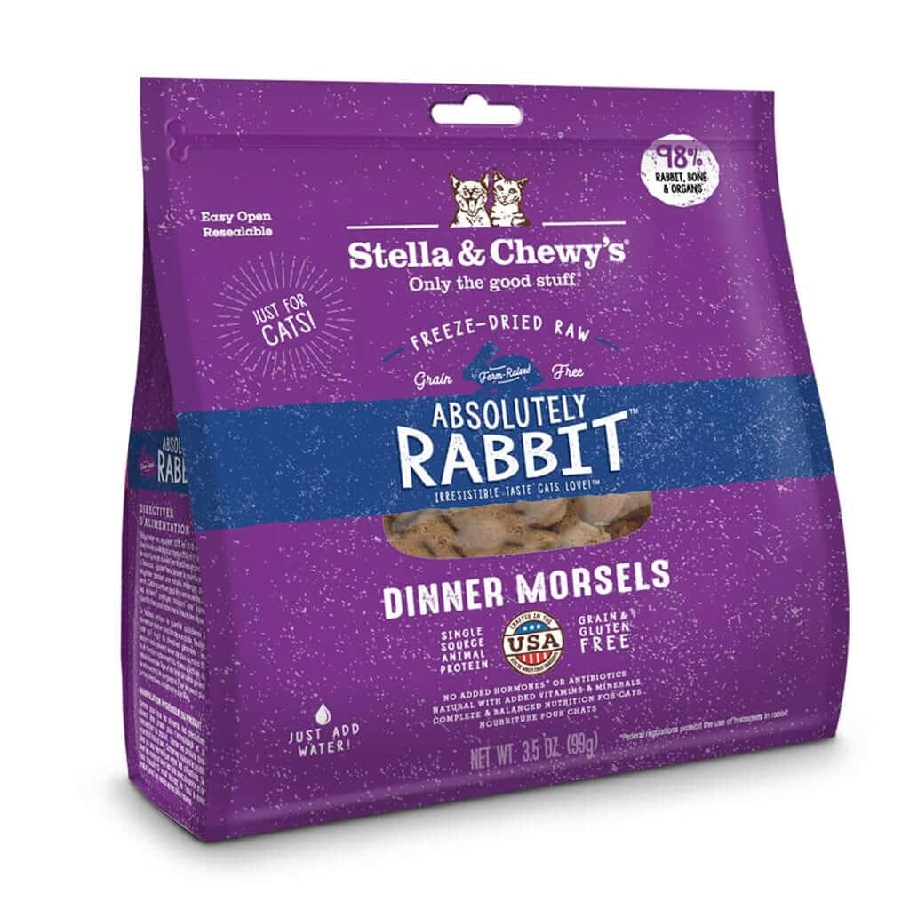 Stella & Chewy's Stella & Chewy's Absolutely Rabbit Freeze Dried Cat Food