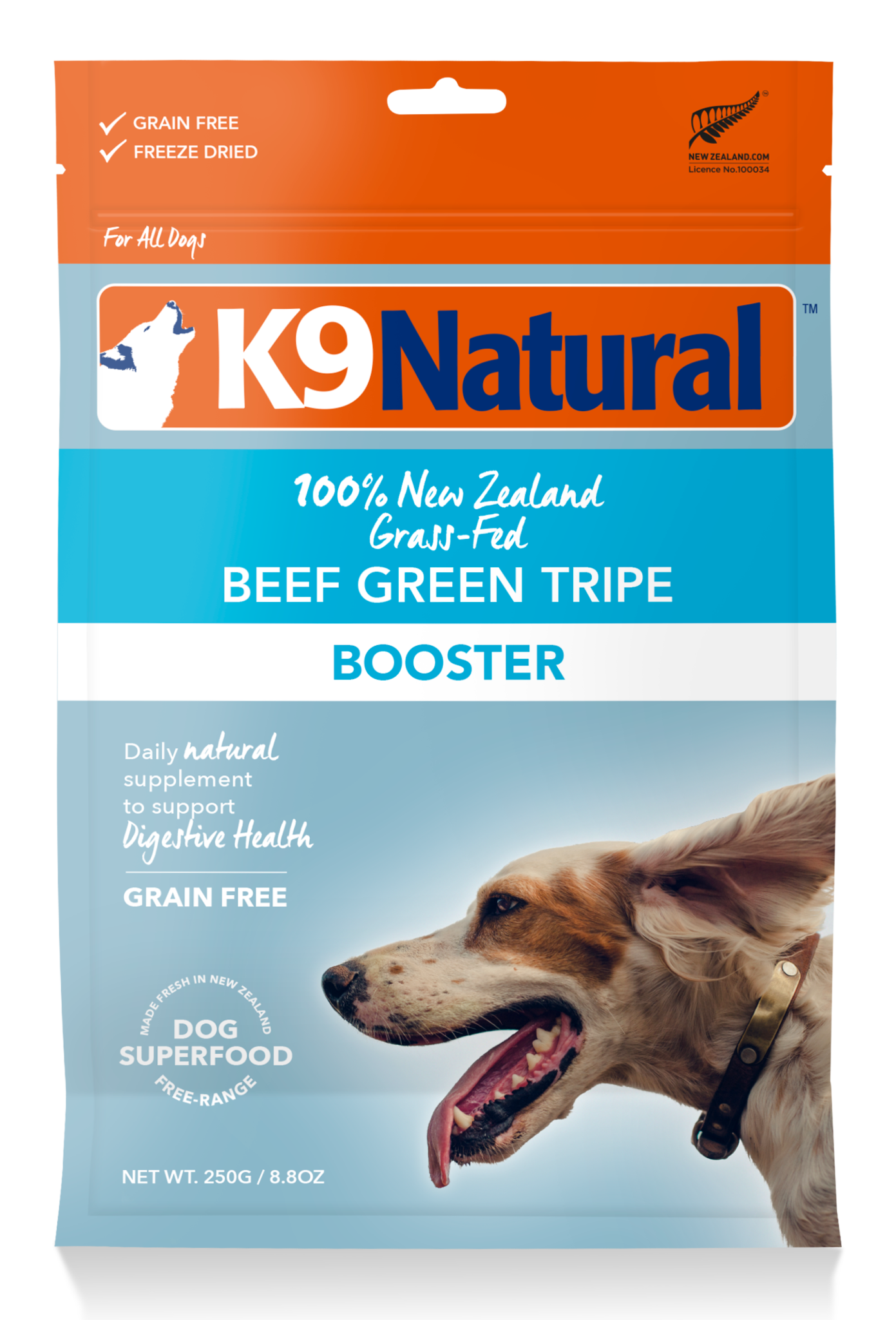 K9 Natural K9 Natural Freeze Dried Beef Green Tripe Dog Food Booster