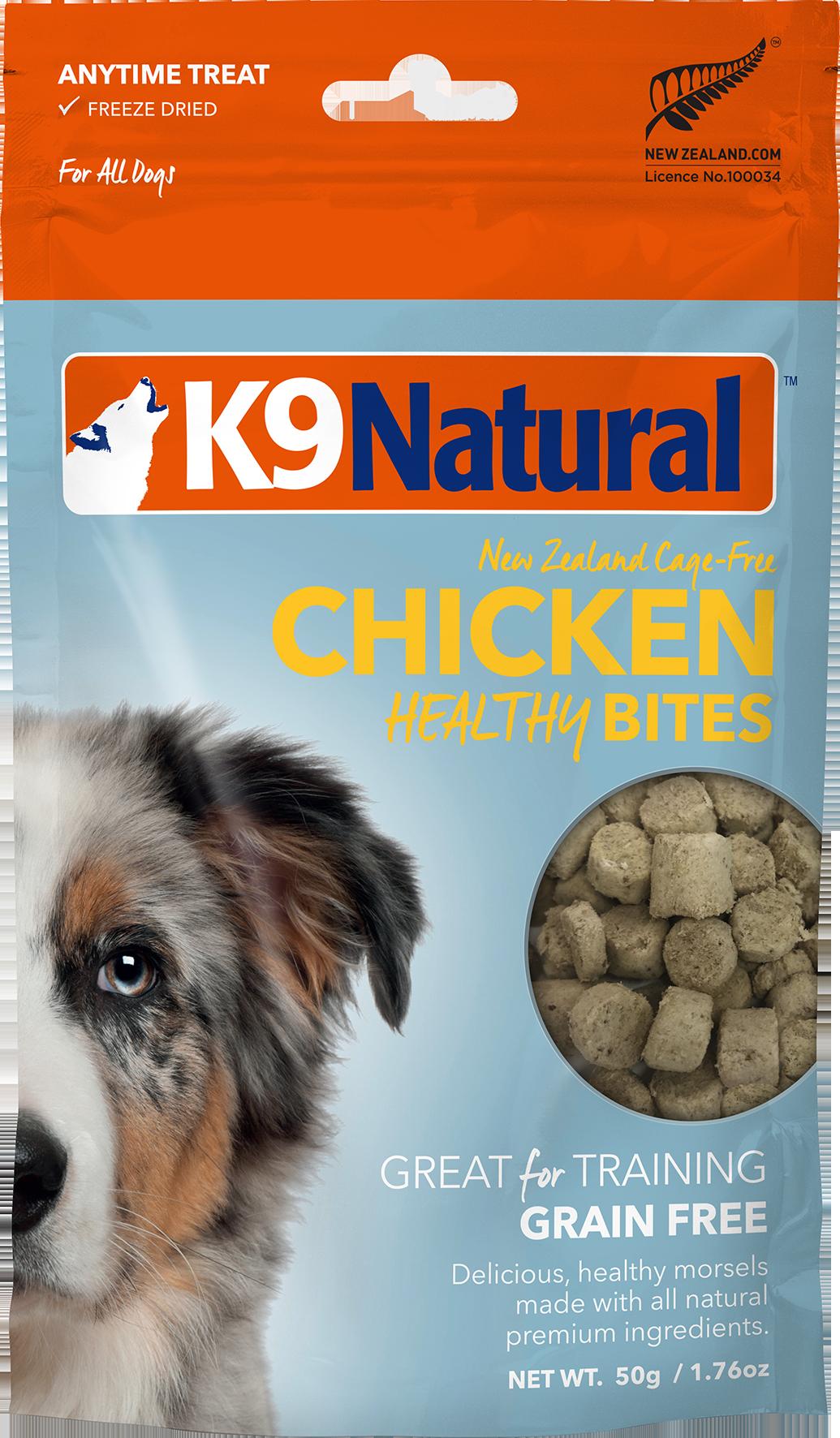 K9 Natural K9 Natural Freeze Dried Bites Chicken Dog 1.76oz