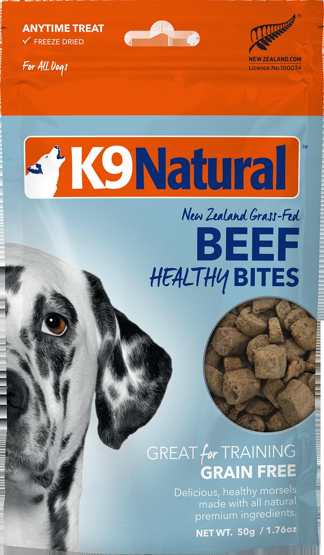 K9 Natural K9 Natural Freeze Dried Bites Beef Dog Treat 1.76oz
