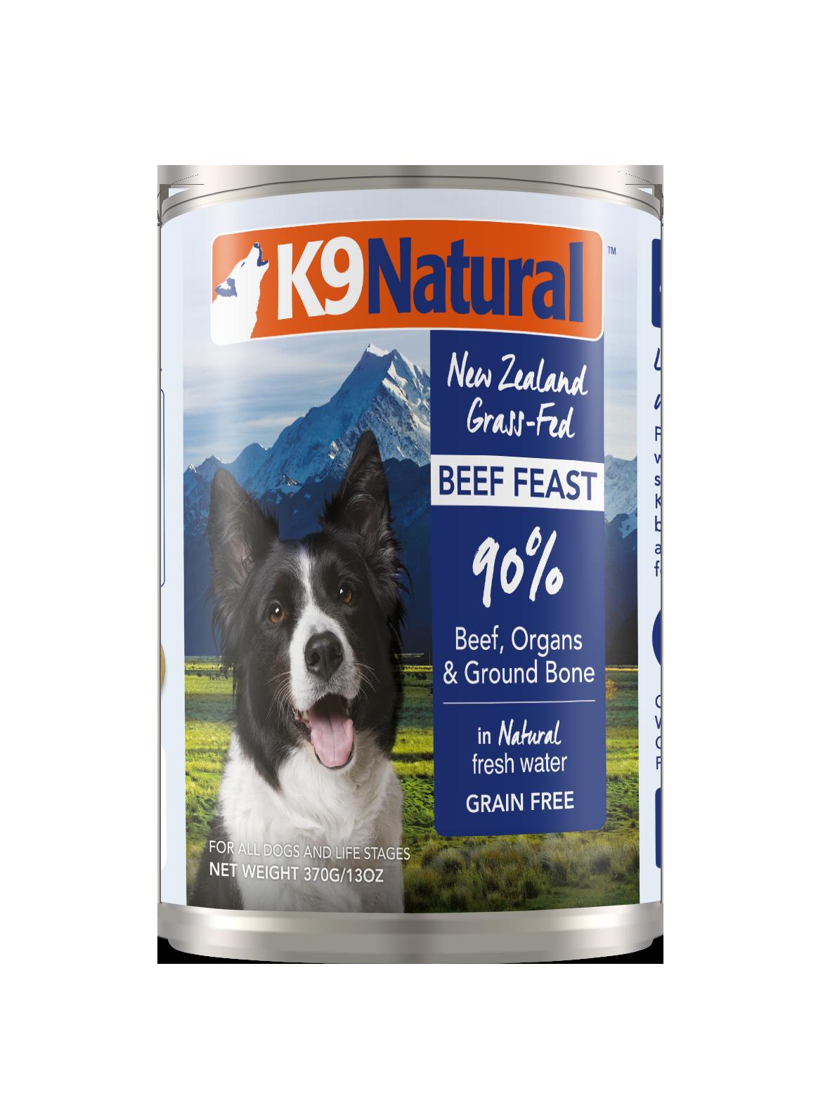 K9 Natural K9 Natural Beef Feast Wet Dog Food 13oz