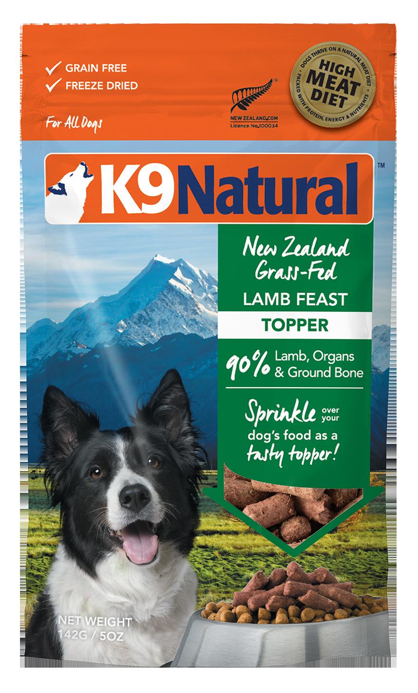 K9 Natural K9 Natural Freeze Dried Lamb Feast Dog Food Topper 5oz