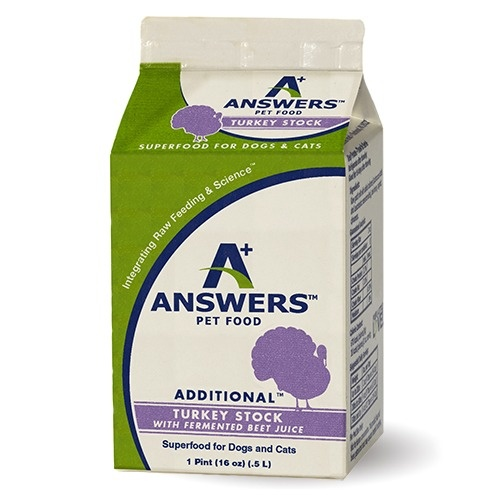 Answers Answers Additional Turkey Stock with Fermented Beet Juice Supplement 1 Pint