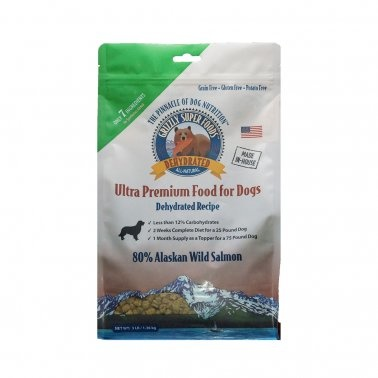 Grizzly Grizzly Super Foods Dehydrated Alaskan Wild Salmon Dry Dog Food
