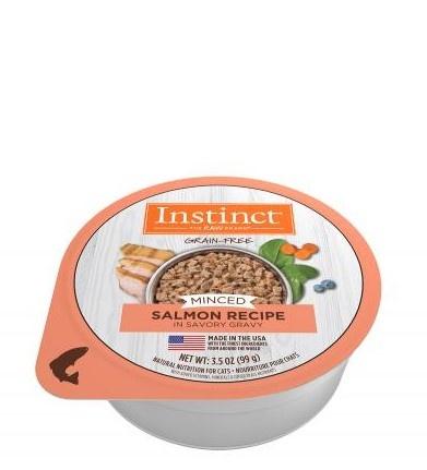 Instinct Instinct Minced Salmon Wet Cat Food Cup 3.5oz