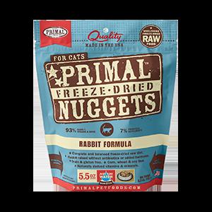 Primal Primal Rabbit Freeze Dried Cat Food