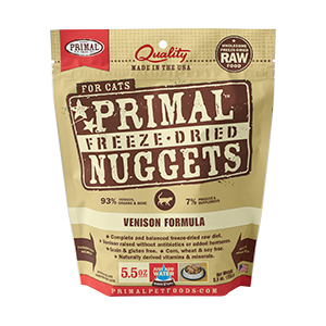 Primal Primal Venison Freeze Dried Cat Food 5.5oz