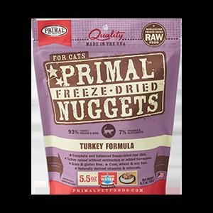 Primal Primal Turkey Freeze Dried Cat Food