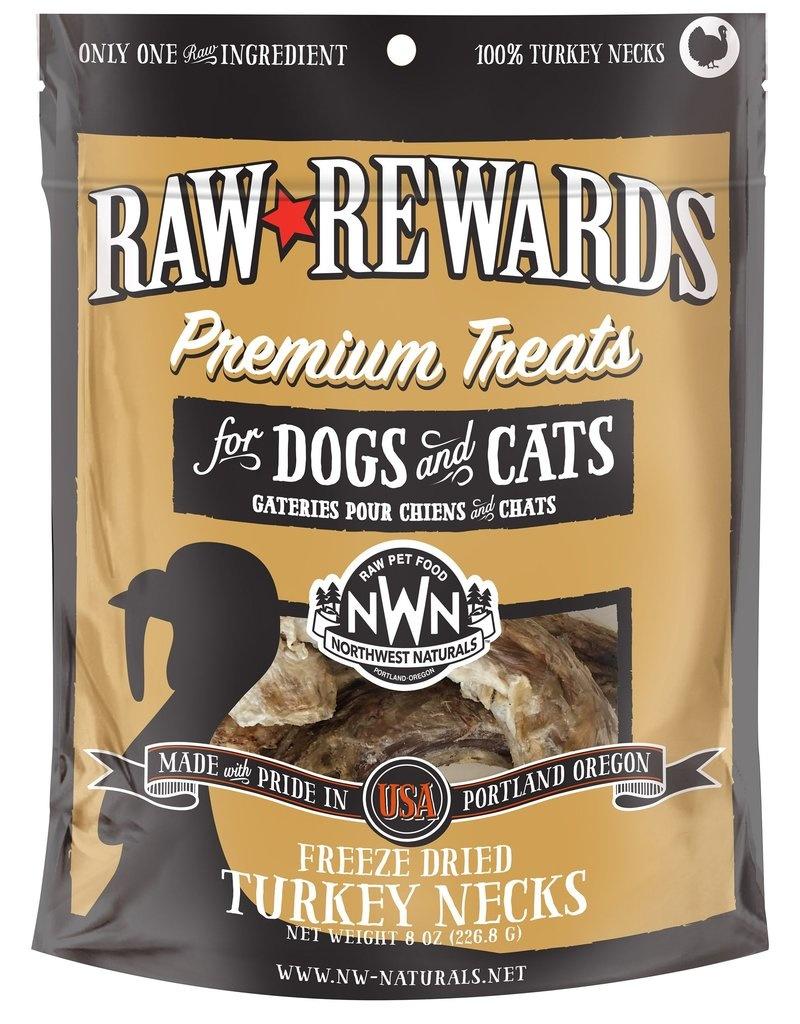 Northwest Naturals Northwest Naturals Freeze Dried Turkey Necks Dog Treat 8oz