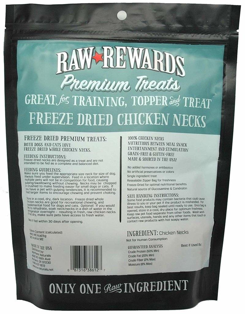 Northwest Naturals Northwest Naturals Freeze Dried Chicken Necks Dog Treats 4oz