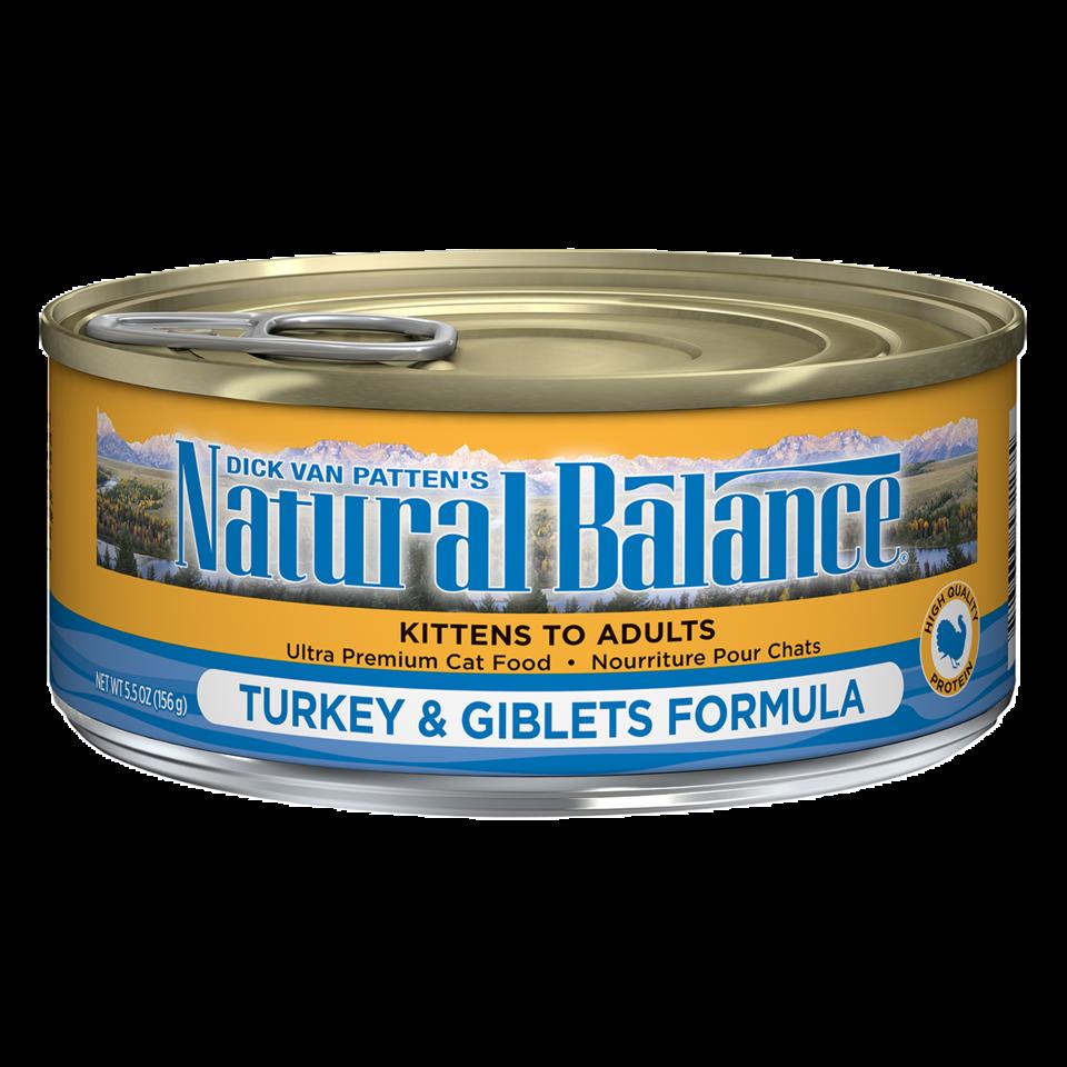Natural Balance Natural Balance Turkey & Giblets Wet Cat Food 5.5oz