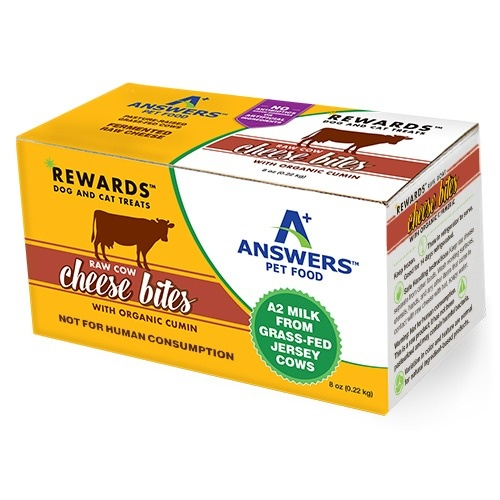 Answers Answers Cow's Milk Cheese with Cumin Dog Treat 8oz