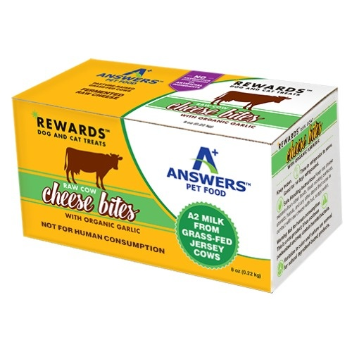 Answers Answers Cow's Milk Cheese with Garlic Dog Treat 8oz