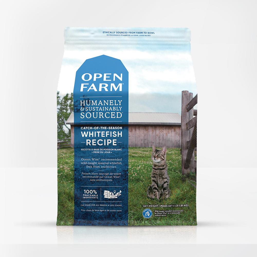 Open Farm Open Farm Catch-of-the-Season Whitefish Dry Cat Food
