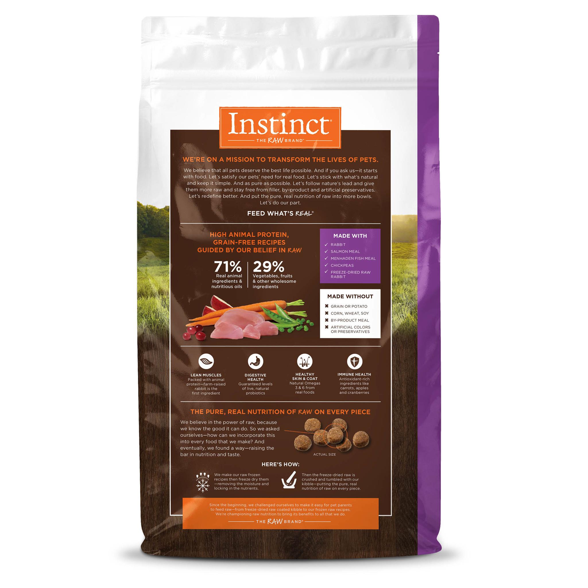 Instinct Instinct Original Grain Free Rabbit Dry Dog Food