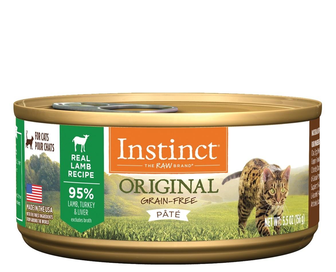 Instinct Instinct Original Lamb Wet Cat Food 5.5oz