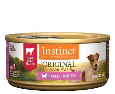 Instinct Instinct Original Beef Small Breed Wet Dog Food