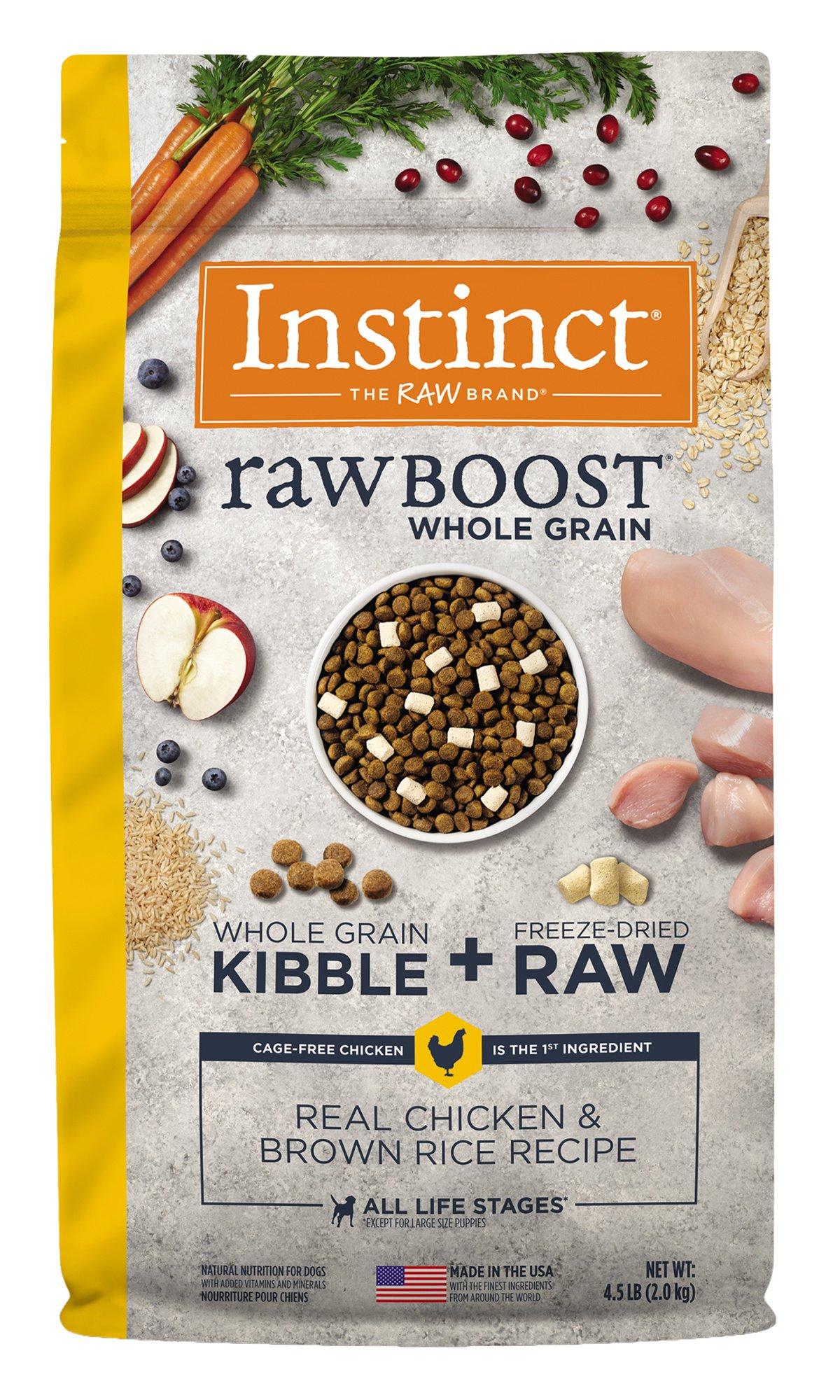 Instinct Instinct Raw Boost Whole Grain Real Chicken & Brown Rice Recipe Dry Dog Food
