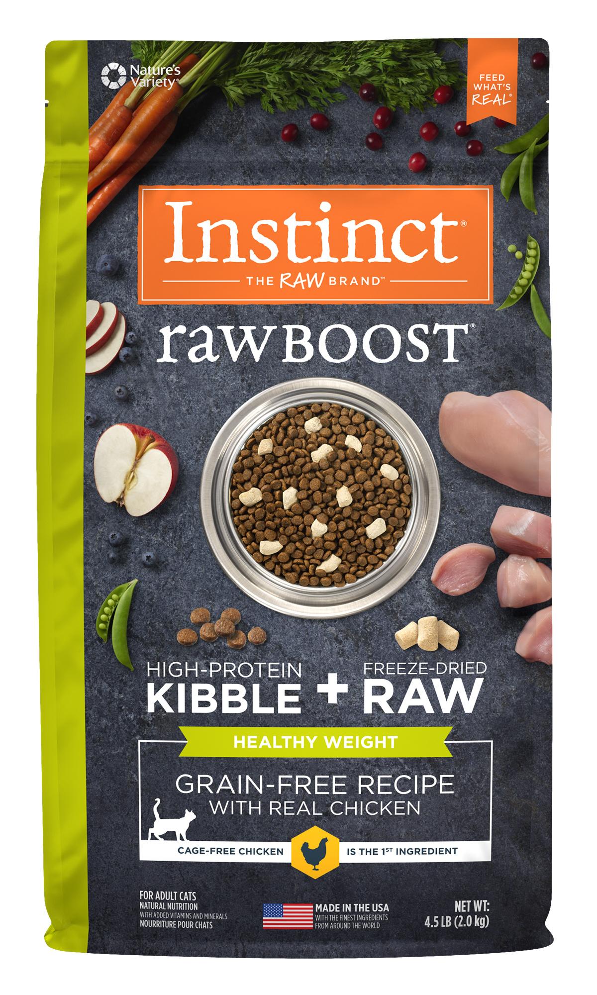 Instinct Instinct Raw Boost Grain Free Healthy Weight Chicken Dry Cat Food