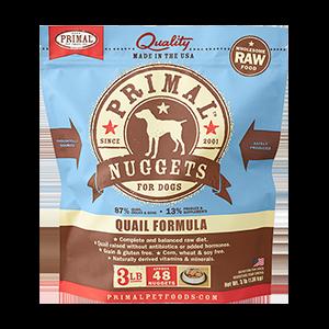 Primal Primal Quail Raw Dog Food