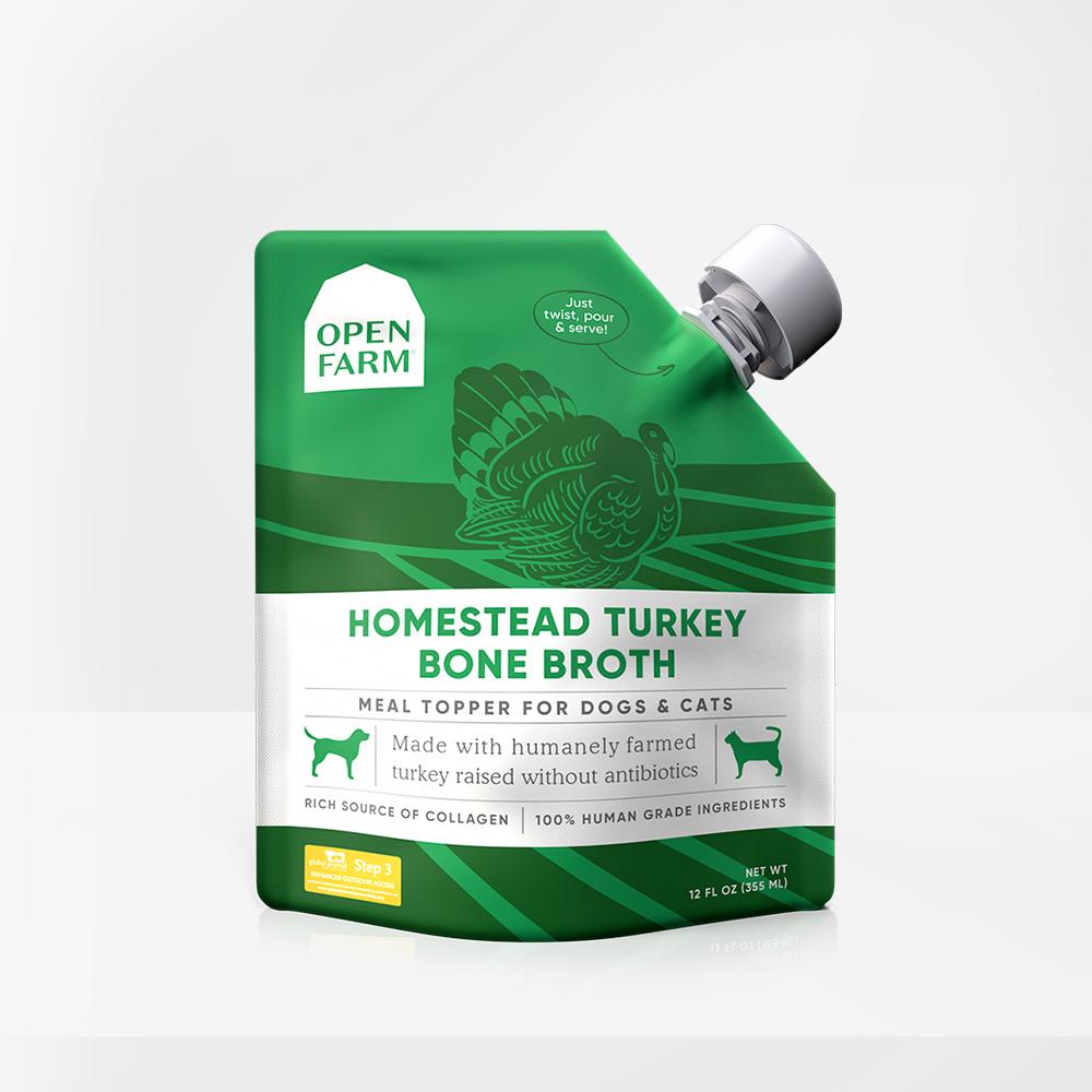 Open Farm Open Farm Turkey Bone Broth Supplement 12oz