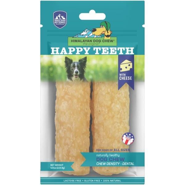 Himalayan Himalayan Happy Teeth Cheese Dog Chew 2pk