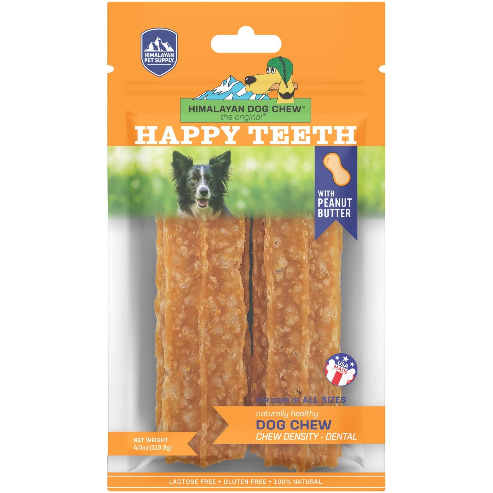 Himalayan Himalayan Happy Teeth Peanut Butter Dog Chew 2pk