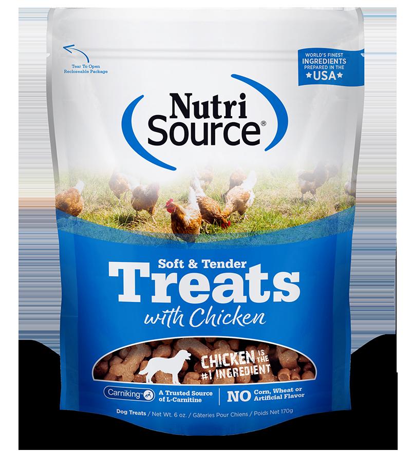 NutriSource NutriSource Soft & Tender Chicken Dog Treat