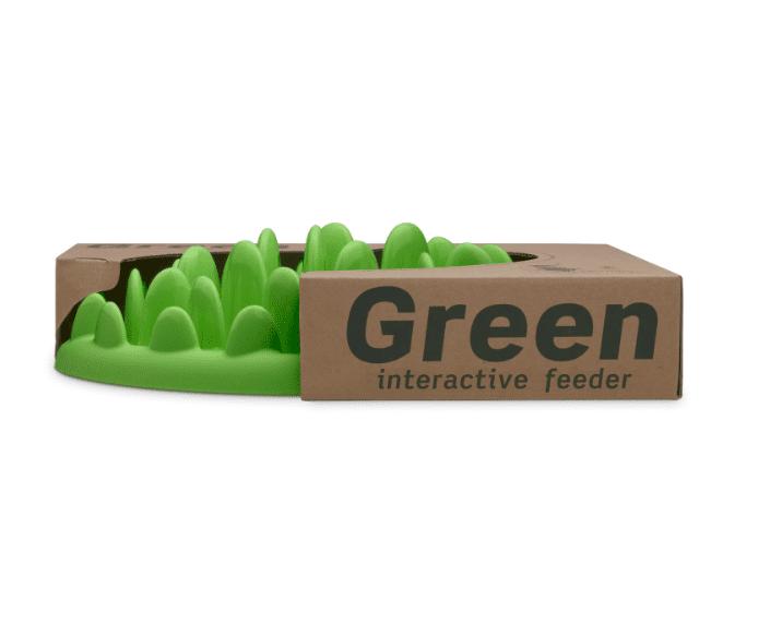 Company of Animals The Company of Animals Green Interactive Feeder