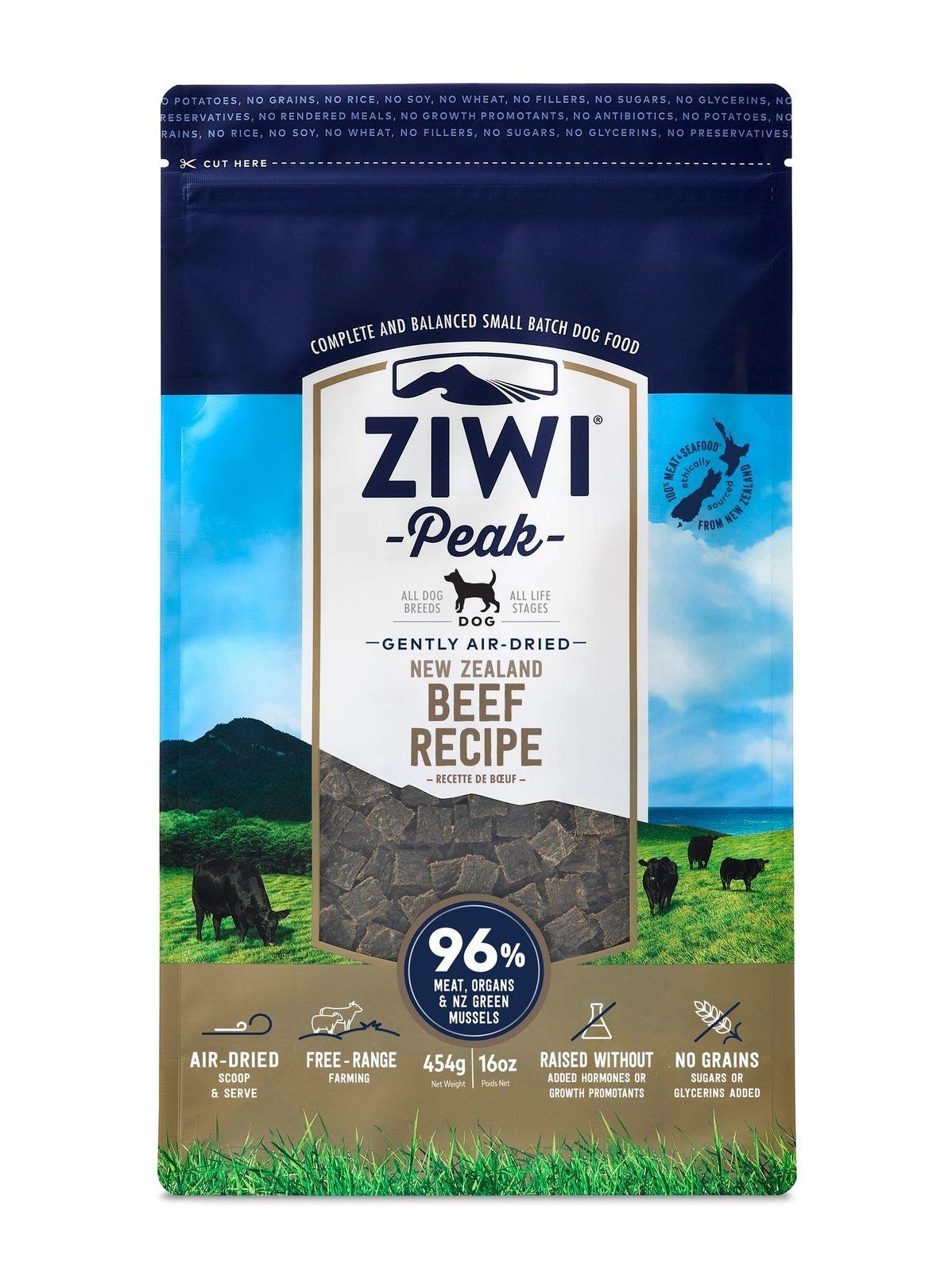 Ziwi Peak Ziwi Peak Beef Air Dried Dog Food