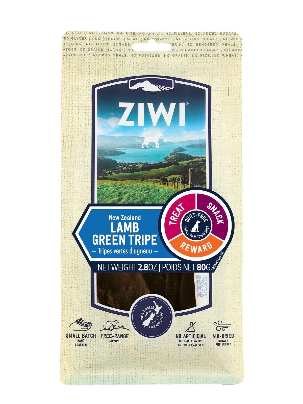 Ziwi Peak Ziwi Peak Lamb Green Tripe Dog Treat 2.8oz