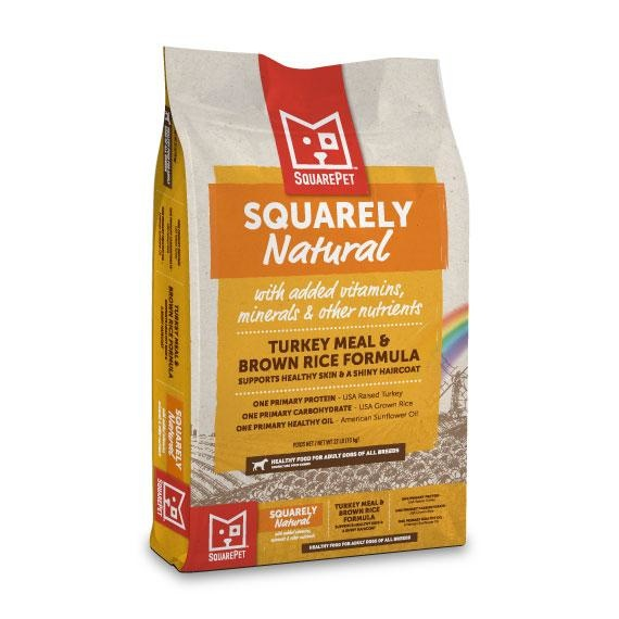 Squarepet Squarepet Canine Squarely Natural Turkey Meal & Brown Rice Dry Dog Food
