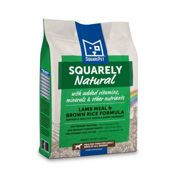 Squarepet Squarepet Canine Squarely Natural Lamb Meal & Brown Rice Dry Dog Food