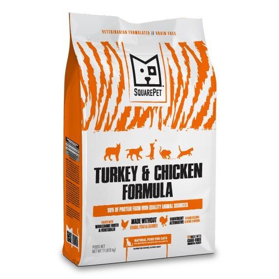 Squarepet Squarepet Feline Turkey & Chicken Dry Cat Food