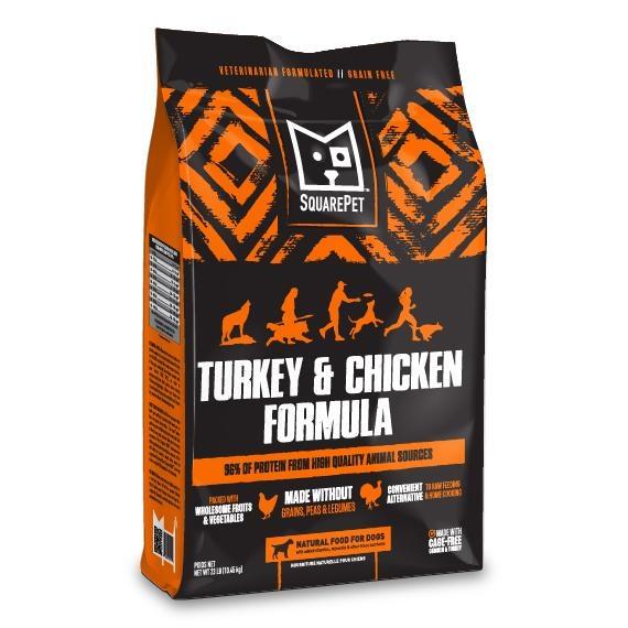 Squarepet Squarepet Canine Turkey & Chicken Dry Dog Food
