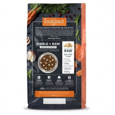 Instinct Nature's Variety Instinct Raw Boost Grain Free Salmon Dry Dog Food