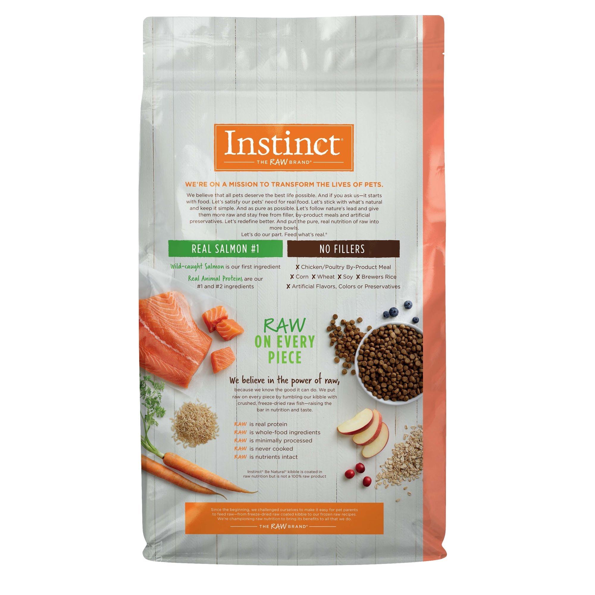 Instinct Instinct Be Natural Salmon & Brown Rice Dry Dog Food