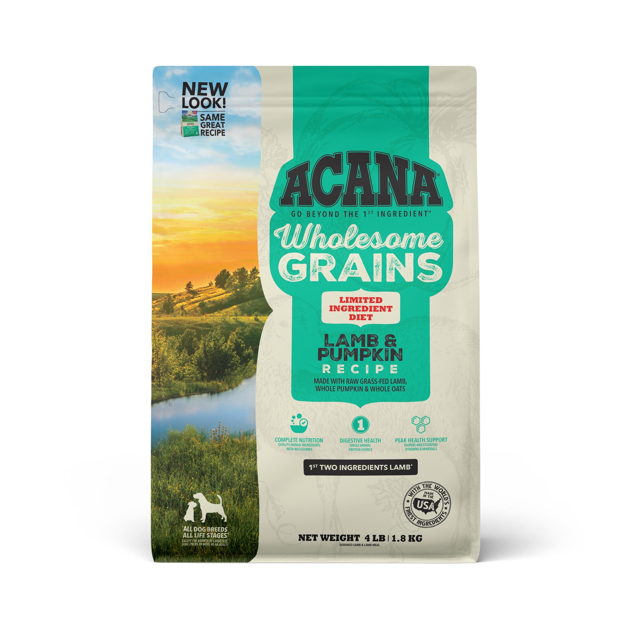 Acana Acana Singles Wholesome Grains Lamb & Pumpkin Dry Dog Food
