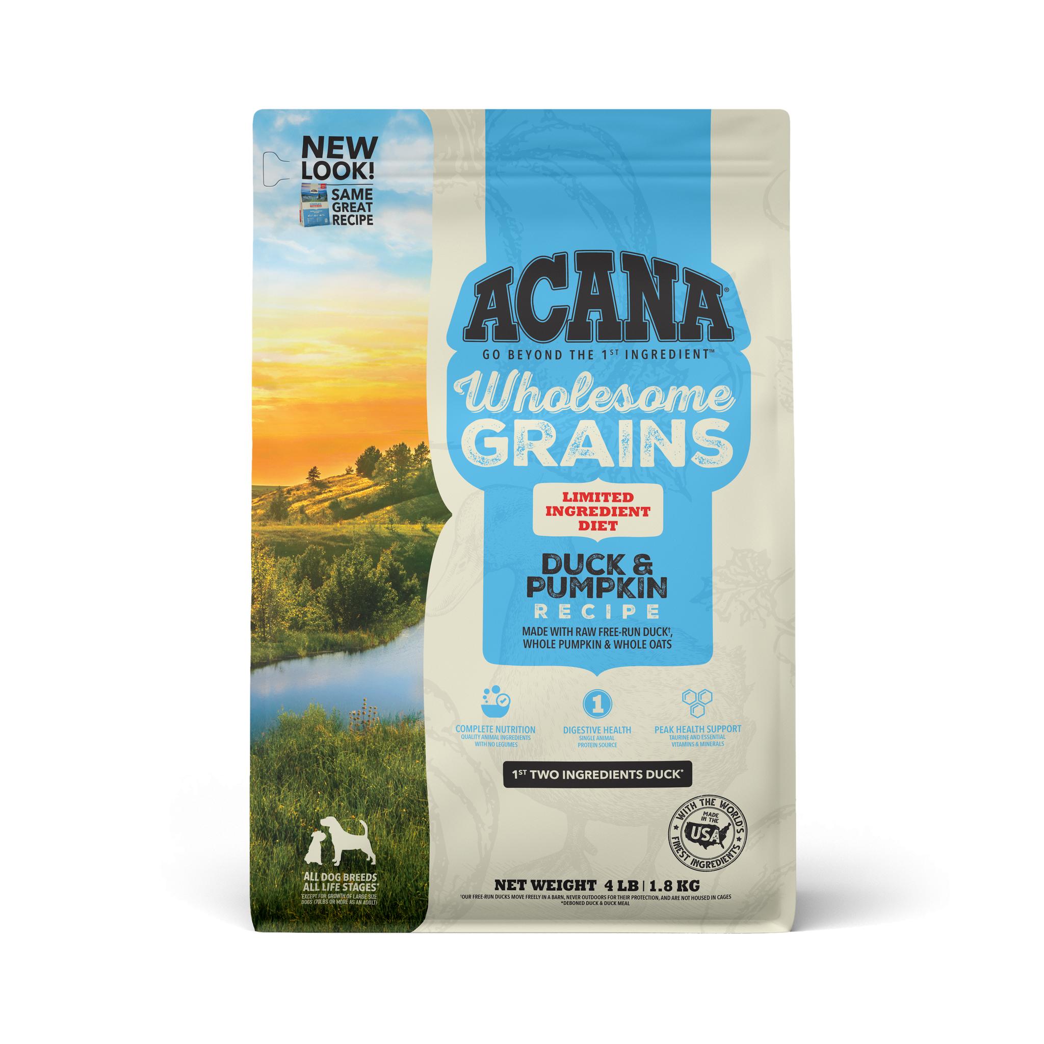 Acana Acana Singles Wholesome Grains Duck & Pumpkin Dry Dog Food