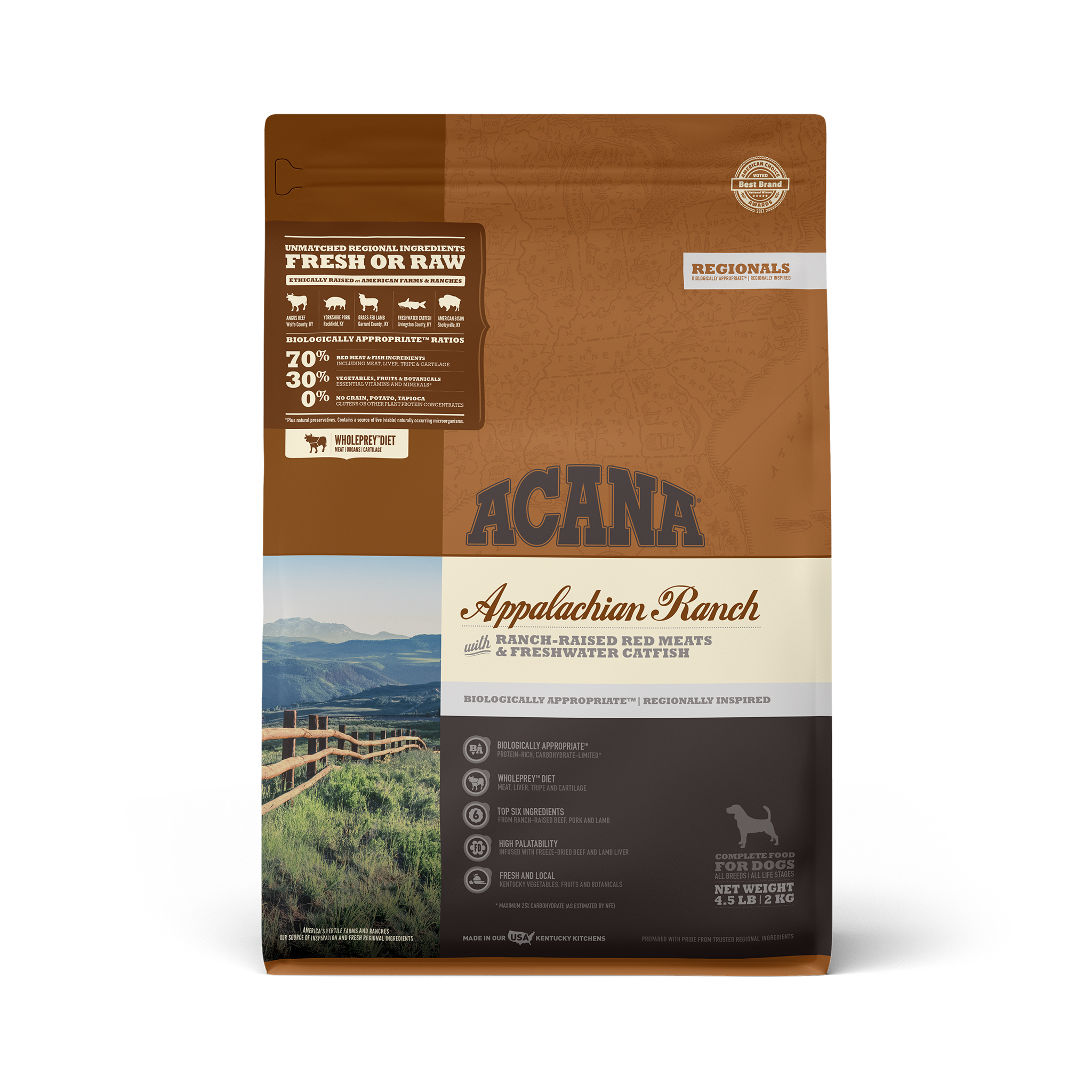 Acana Acana Regionals Appalachian Ranch Dry Dog Food