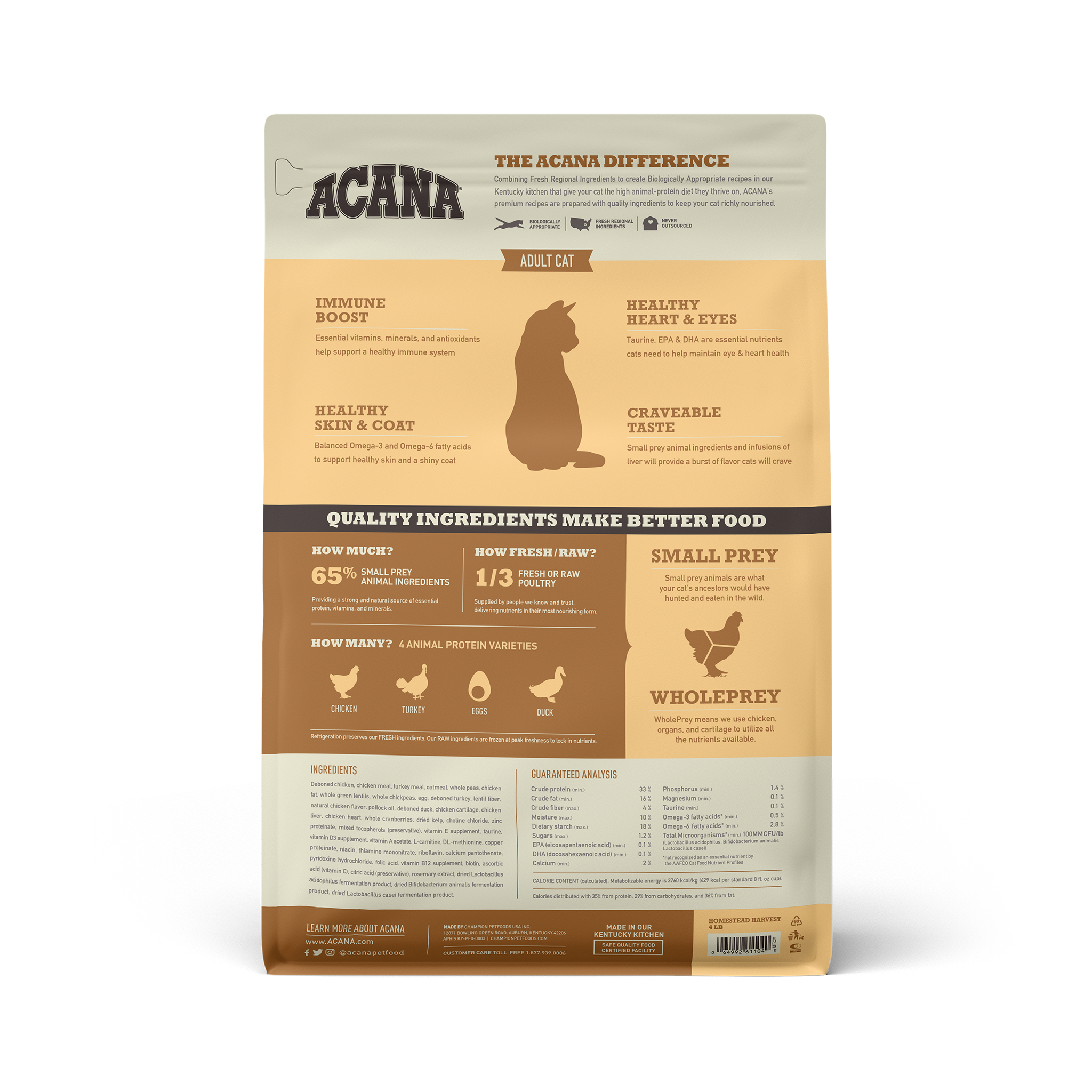 Acana Acana Homestead Harvest Dry Cat Food