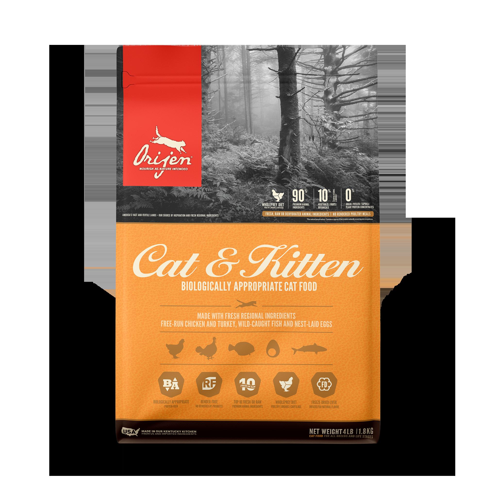Orijen Orijen Cat & Kitten Dry Cat Food
