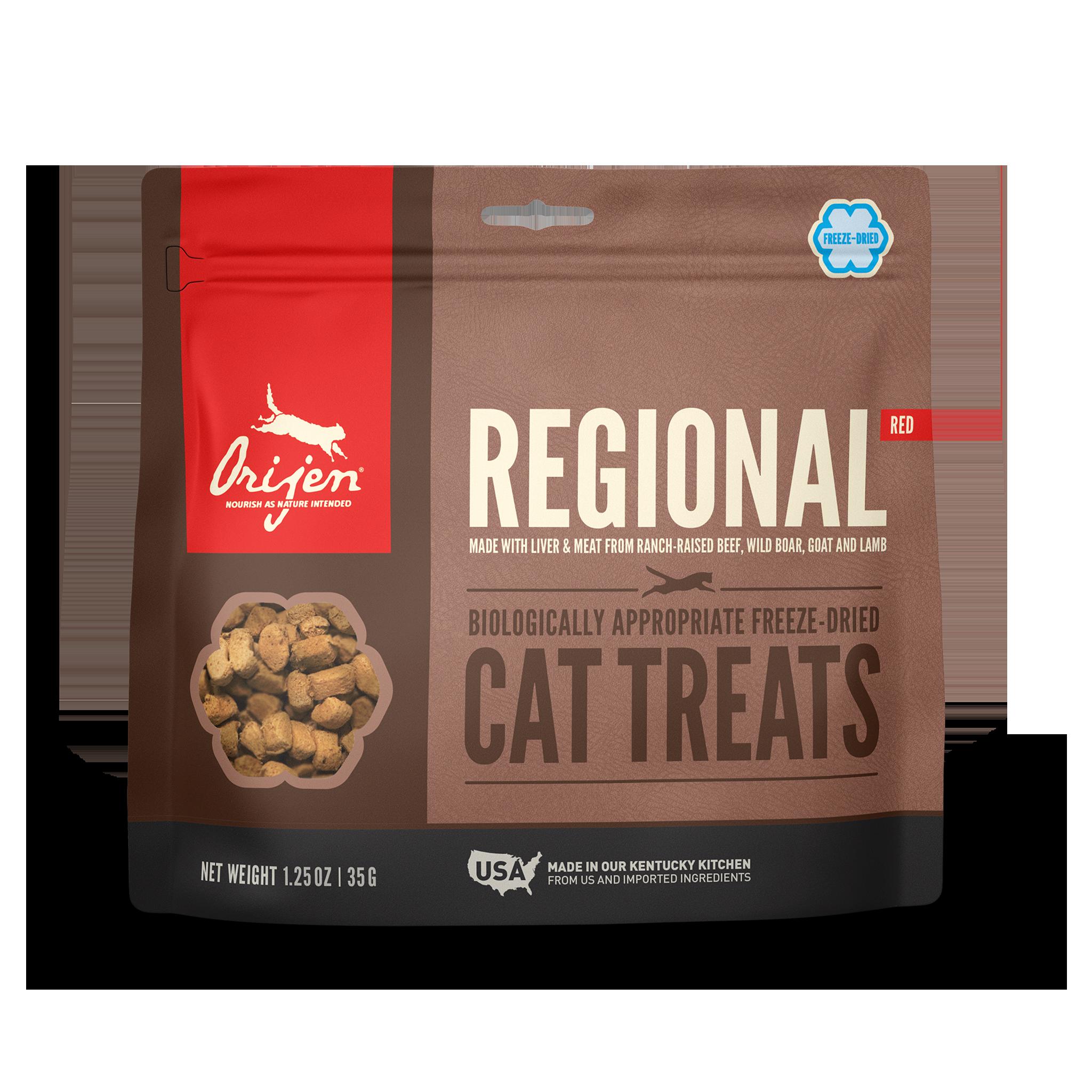 Orijen Orijen Freeze Dried Regional Red Cat Treat 1.25oz