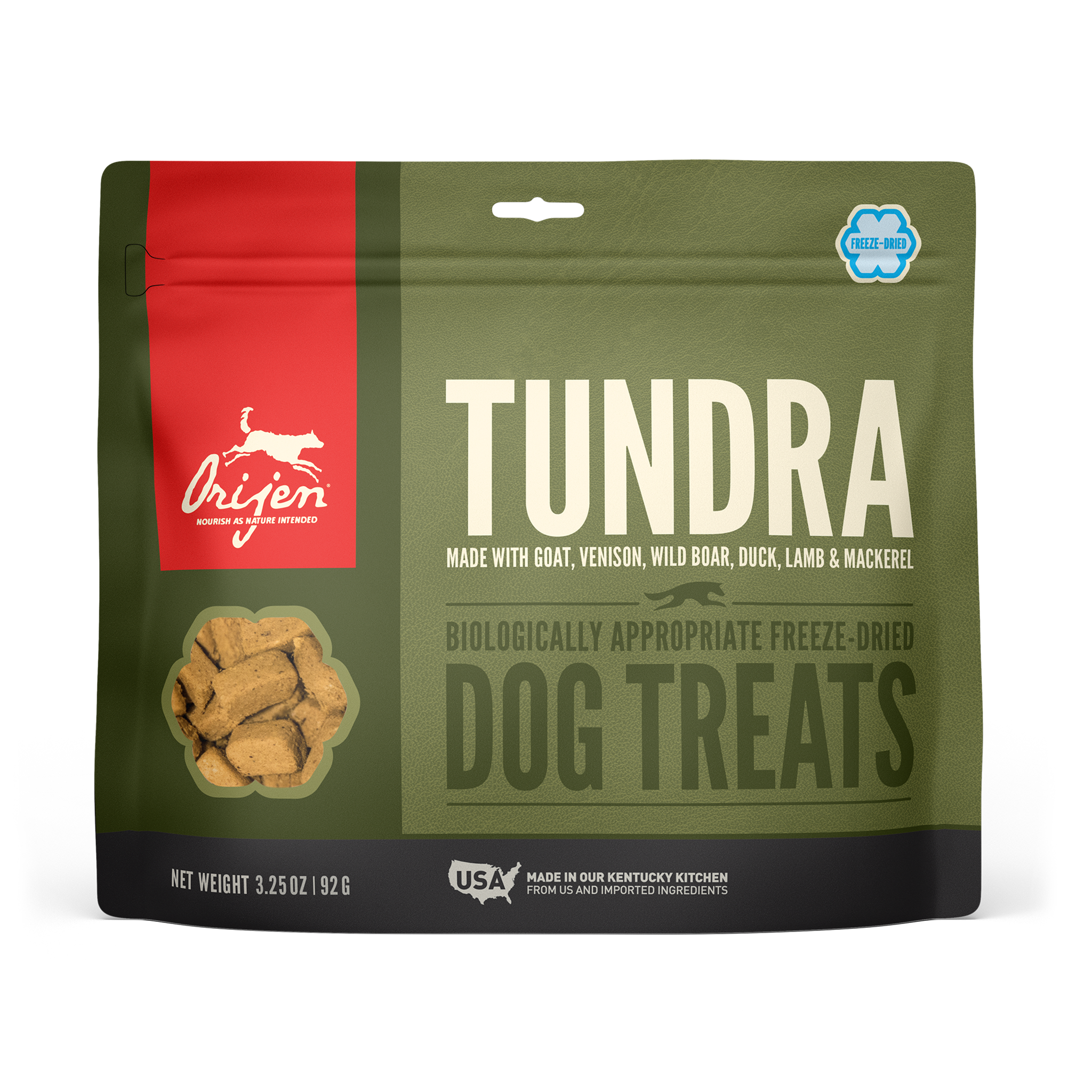 Orijen Orijen Freeze Dried Tundra Dog Treats 3.25oz