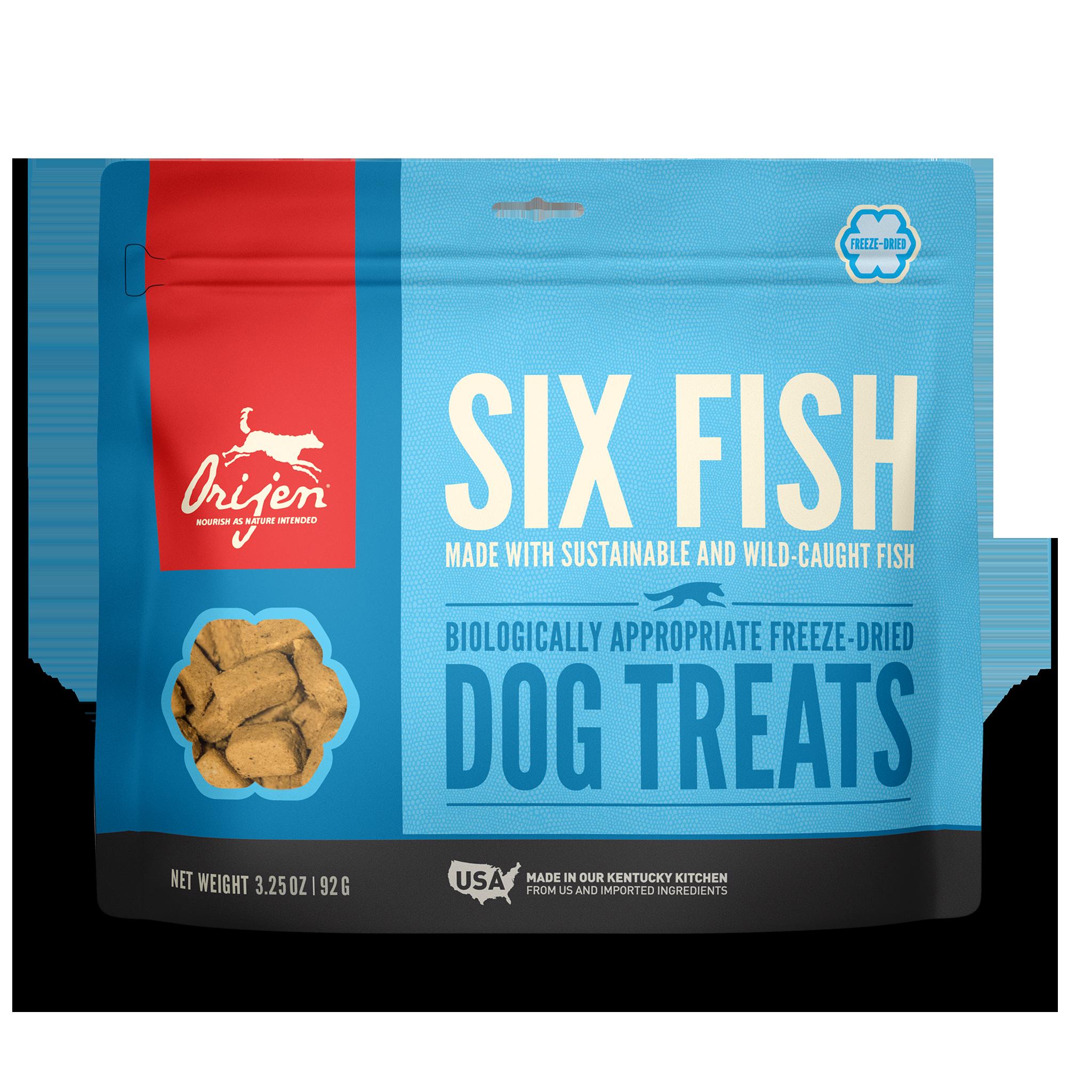 Orijen Orijen Freeze Dried Six Fish Dog Treat 3.25oz