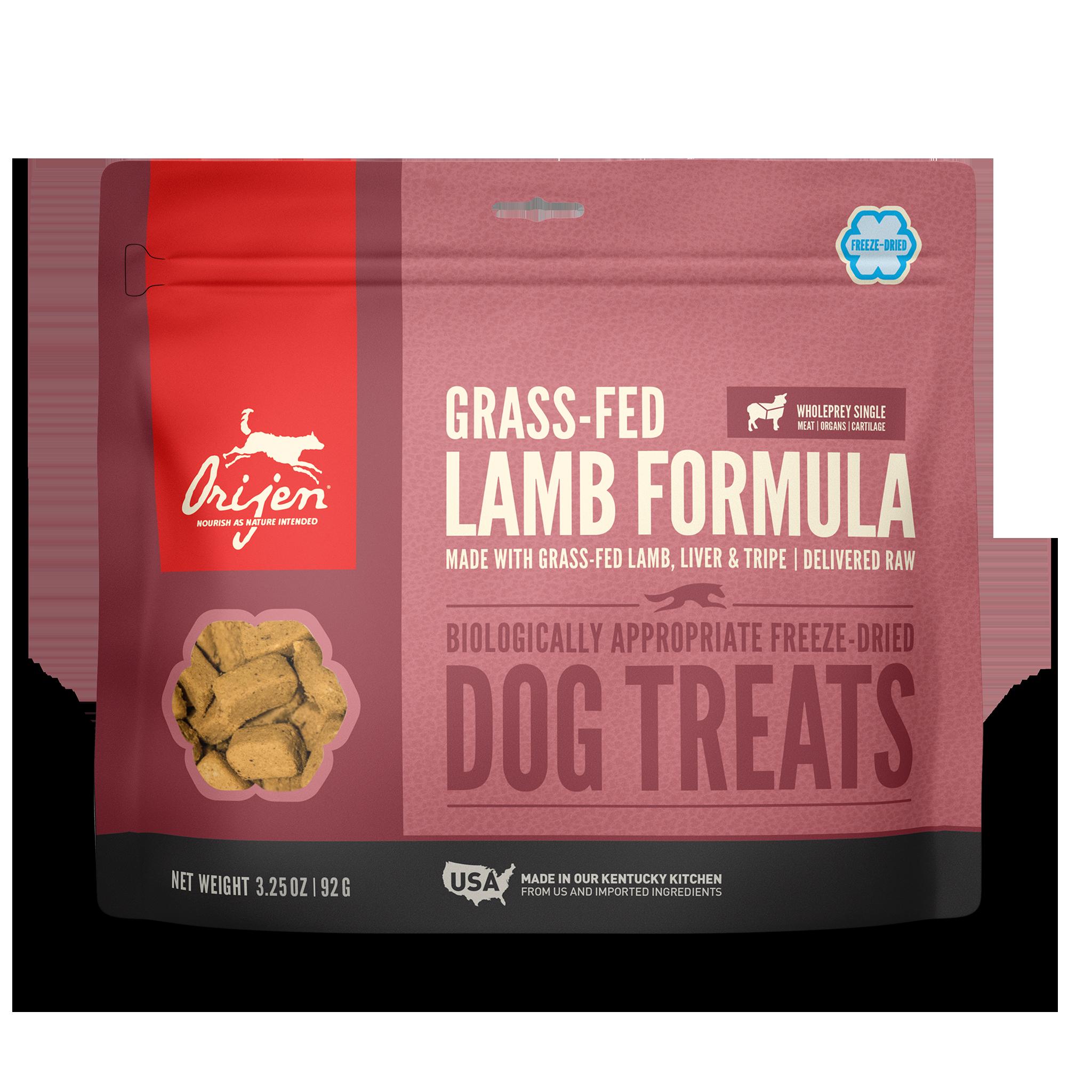 Orijen Orijen Freeze Dried Grass-Fed Lamb Dog Treats 3.25oz