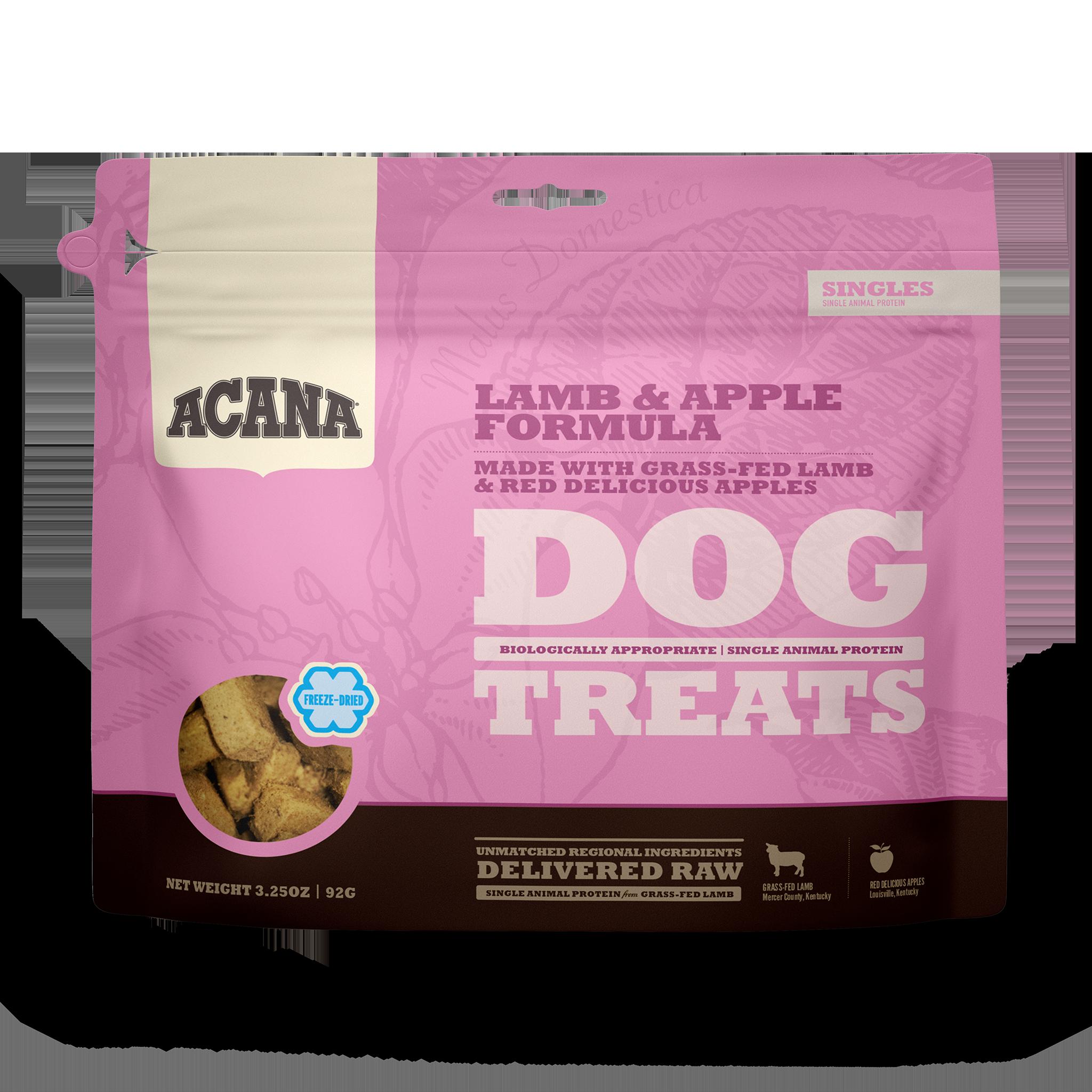 Acana Acana Freeze Dried Lamb & Apple Dog Treat 3.25oz
