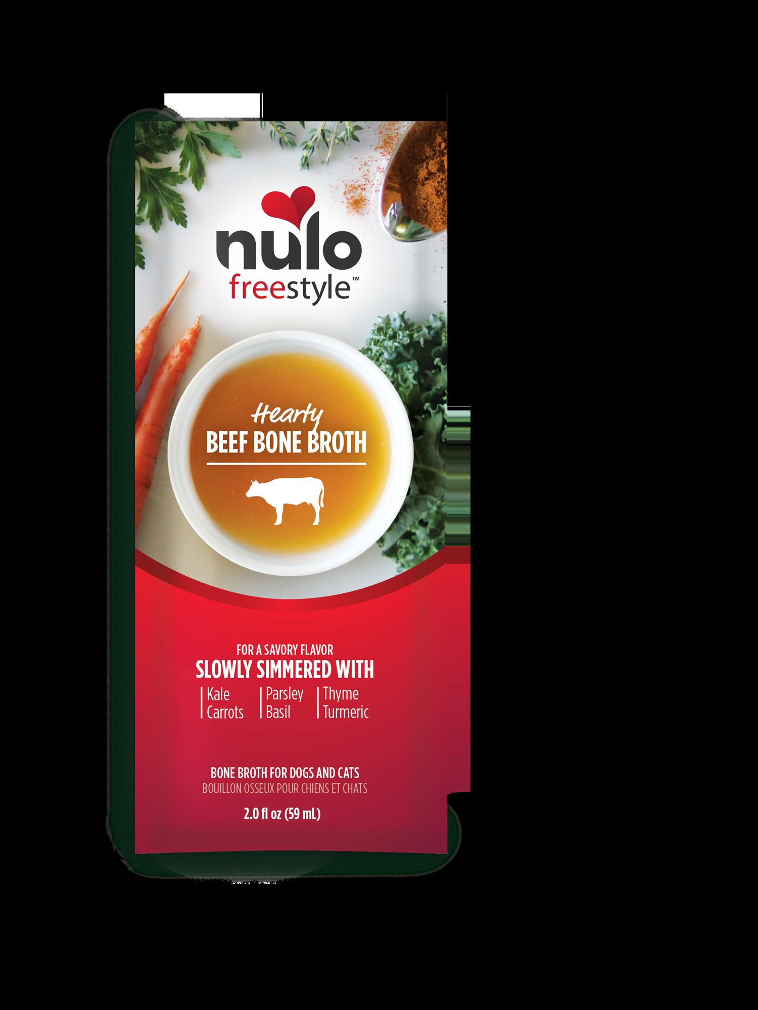 Nulo Nulo Bone Broth Pouch Beef 2oz
